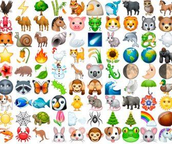 Emoticonos y emojis de animales y naturaleza con significado