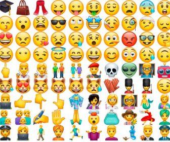 Emoticonos y emojis de caritas y personas con significado