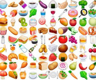 Emoticonos y emojis de comida y bebida con significado
