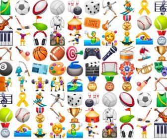 Emoticonos y emojis de deportes y actividades con significado