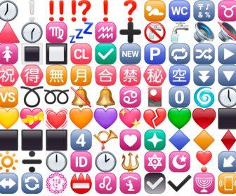 Emoticonos y emojis de símbolos con significado